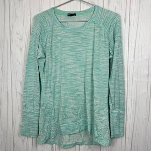 CHAMPION GREEN LONG SLEEVE TOP LARGE
